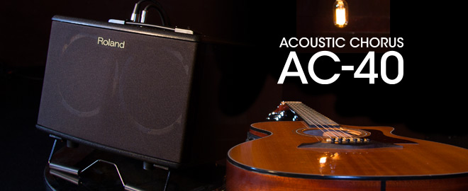 AC-40 Acoustic Chorus Guitar Amplifier