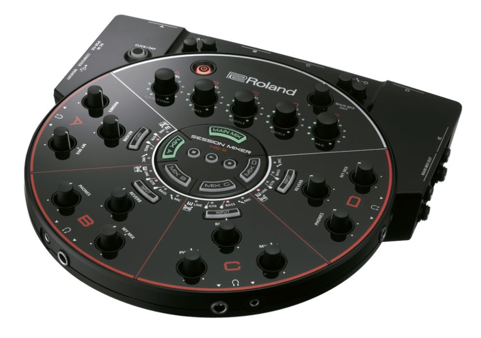 Roland HS-5 Session Mixer Front Panel