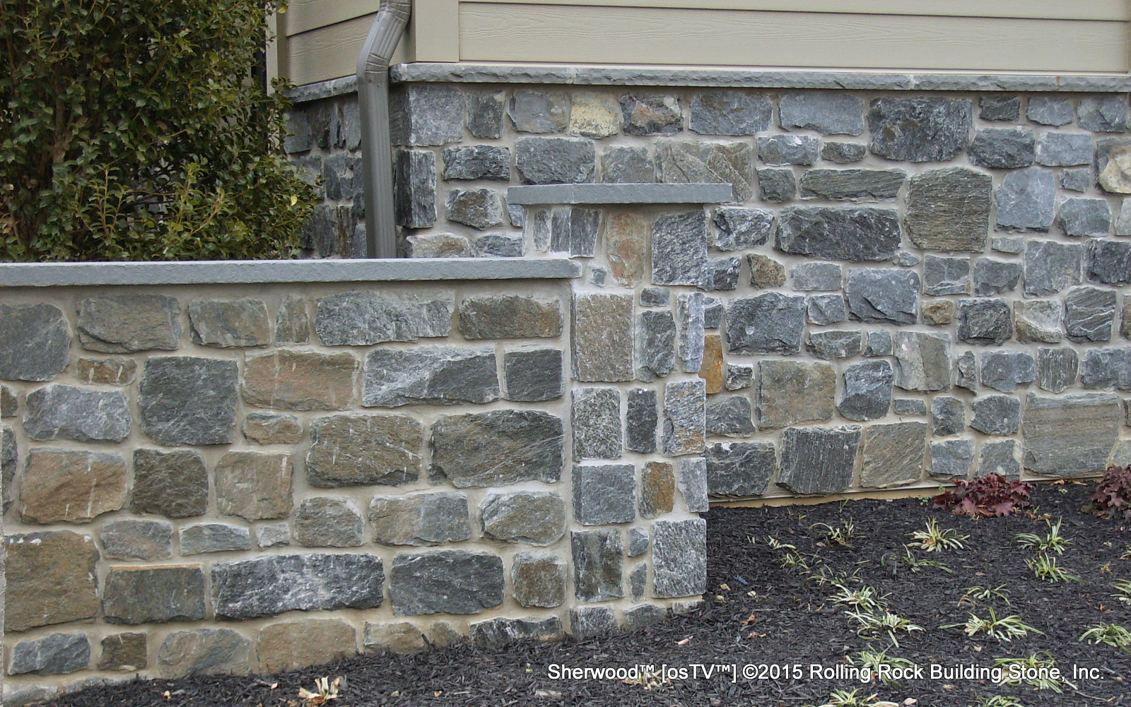 Building Stone Veneer : Sherwood™ rolling rock building stone inc