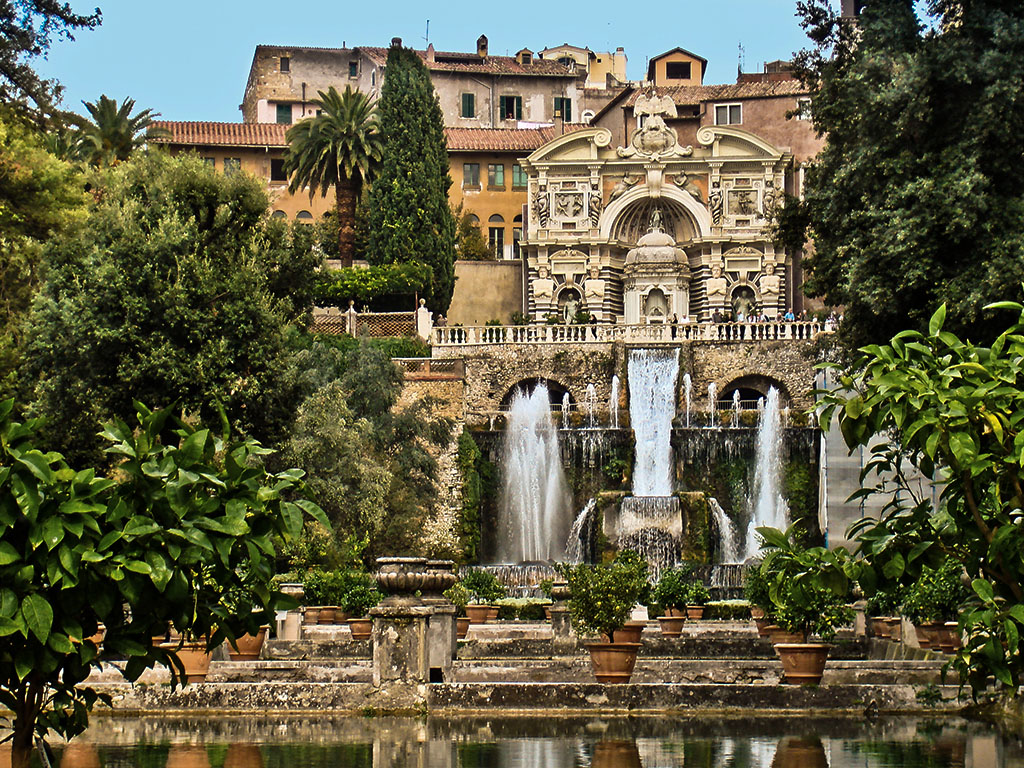 VILLA D'ESTE Fountains