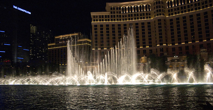 Bellagio Fountains water show