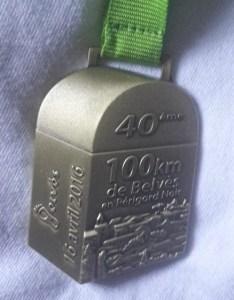 Médaille belves