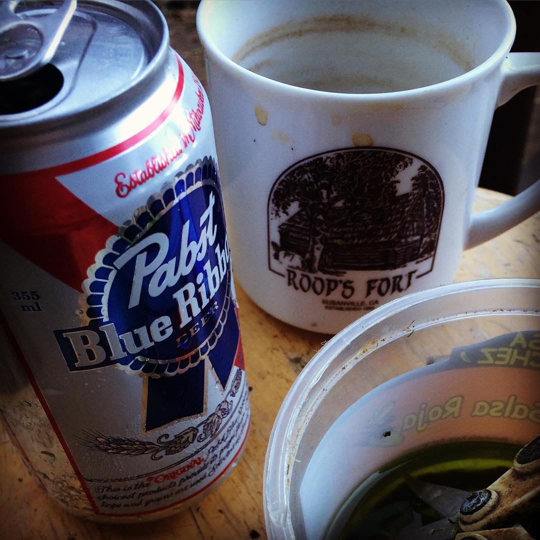 Days gone by ... #farmlife #cabinlife #pbr #california #westcoast