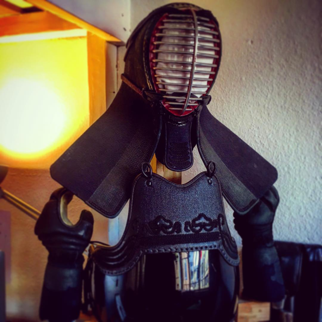 Really looking forward to be back in the game - but a lot of training ahead! ;) #kendo #germany #theforceisstrongwiththisone