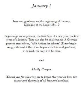 January 1 - Wisdom of the Carpenter