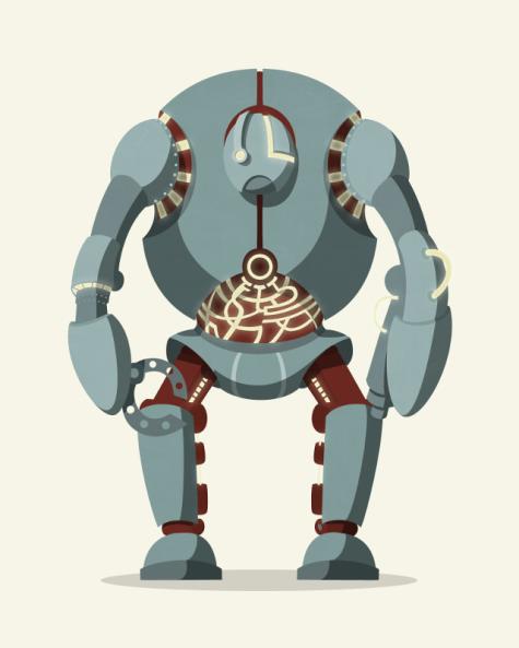 Magnet-O-Bro concept art - big robot