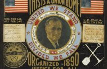 fdr united mine workers of america folk art