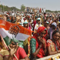 The-Governing-Congress-party-campagne-in-India