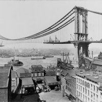 Manhattan_Bridge_Construction_1909