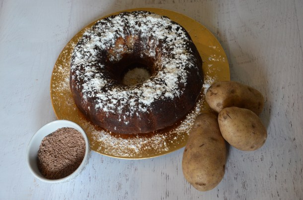 Irish Chocolate Potato Cake