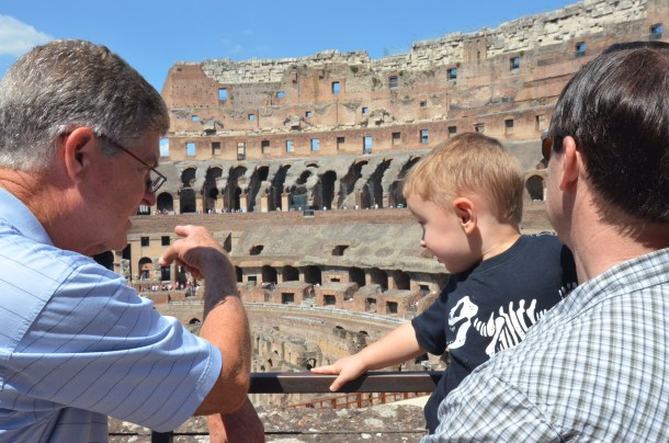 Losing my Firstborn in the Colosseum | Roots and Wings Family Travel