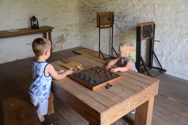 Fort Martin Scott | Roots and Wings Family Travel