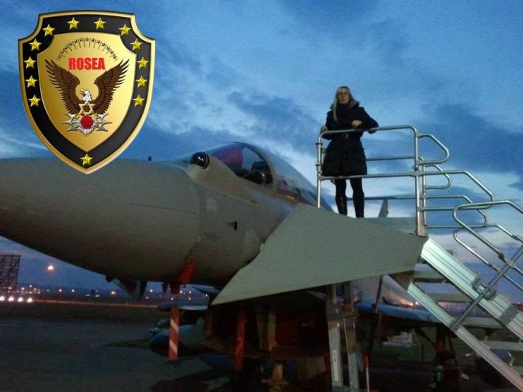 Rosalba avion logo-ul eug