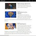Building a responsive website for an artist