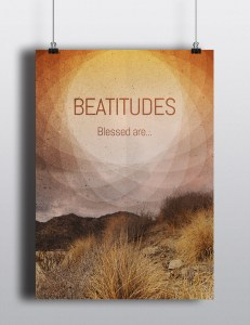 Artwork - Beatitudes (orange)