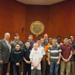 Mayor & Council Recognize Wrestling Program
