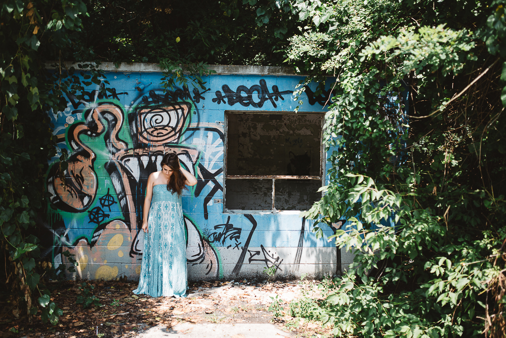 Rosemary & Time | Wardrobe Confidential 13 Blue Dress-4