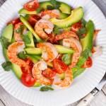 Prawn and Avocado Salad Recipe