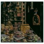 Morocco:Nougat shop in Fes Souk