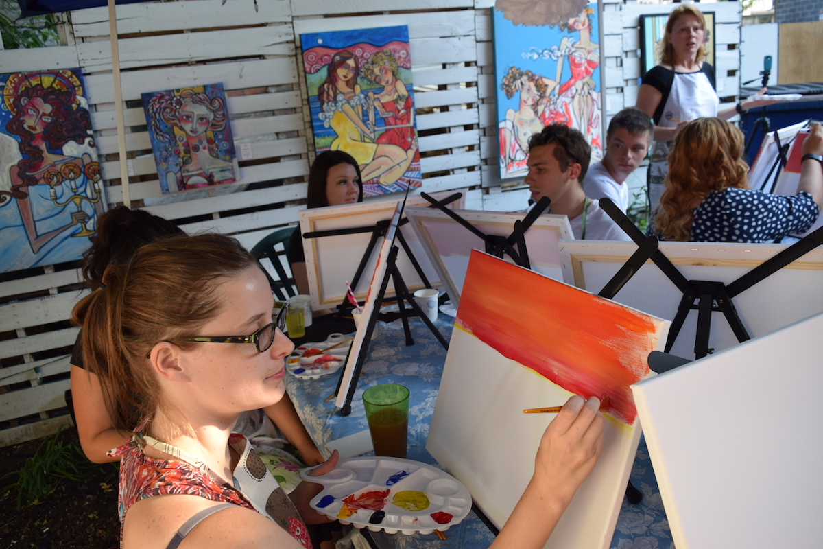 Private Paint Night Parties