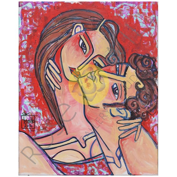 Product 1006 First Kiss 16X20  WM