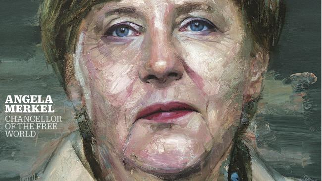 Angela Merkel, persoana anului 2015