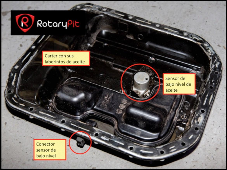 Cárter con bafles y sensor nivel RX8 jird20 RotaryPit