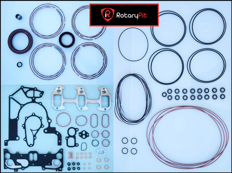 Algunas piezas reconstrucción Renesis rebuild jird20 RX8 RX7 RotaryPit