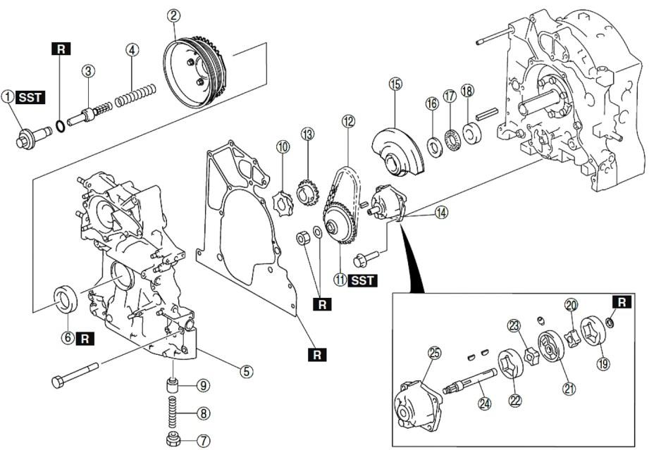 Reconstrucción Rebuild Renesis piezas 2 bloque motor RX8 RX7 jird20 RotaryPit