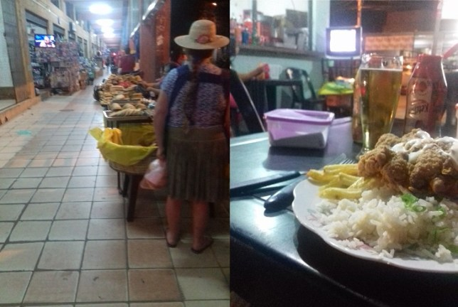 Market and dinner