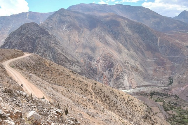 Peru hill climbs