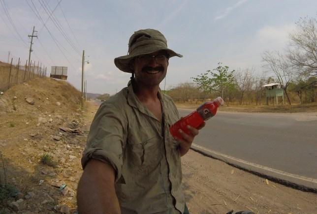 Free gatorade, Honduras