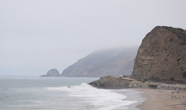 Promising glimpses of the Californian coast