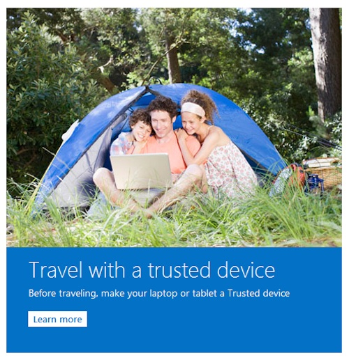 Microsoft Mail - Trusted device