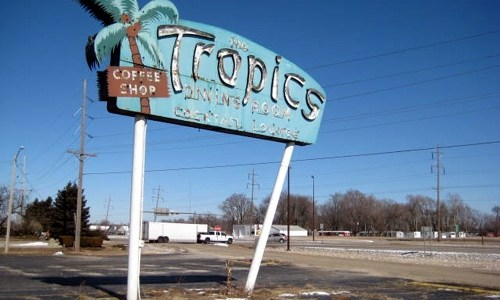 Tourism group may take part ownership of Tropics sign