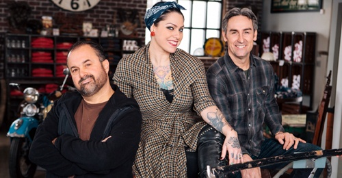 'American Pickers' filming on Route 66 in Oklahoma