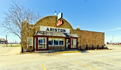 Ariston Cafe still on market, still for sale