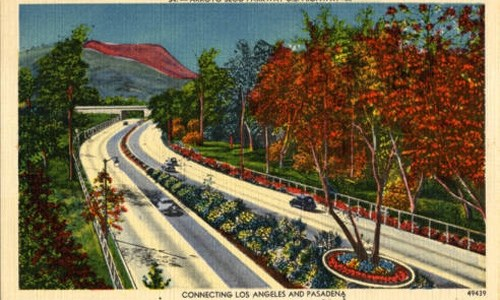 Arroyo Seco Parkway marking 75th anniversary