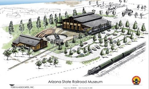 $500,000 grant accepted for Arizona State Railroad Museum