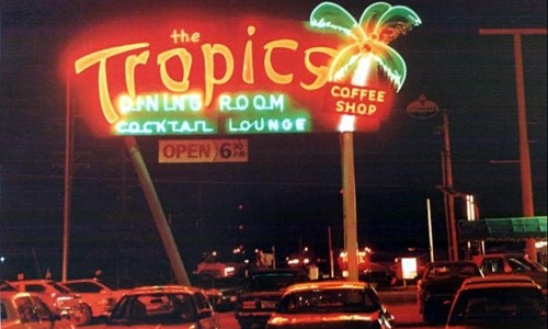A history of The Tropics restaurant