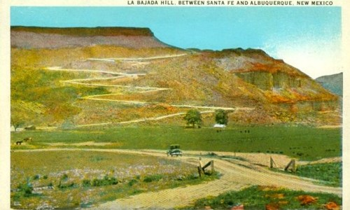 La Bajada Hill may become a national monument