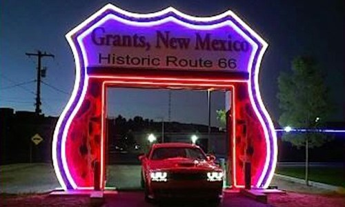 Grants soon will open Route 66 Neon Drive-Thru