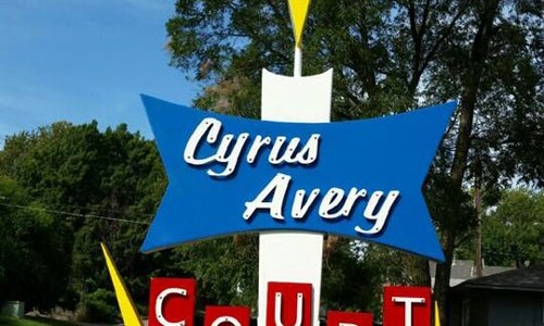 Cyrus Avery Court apartments inspired by 1950s