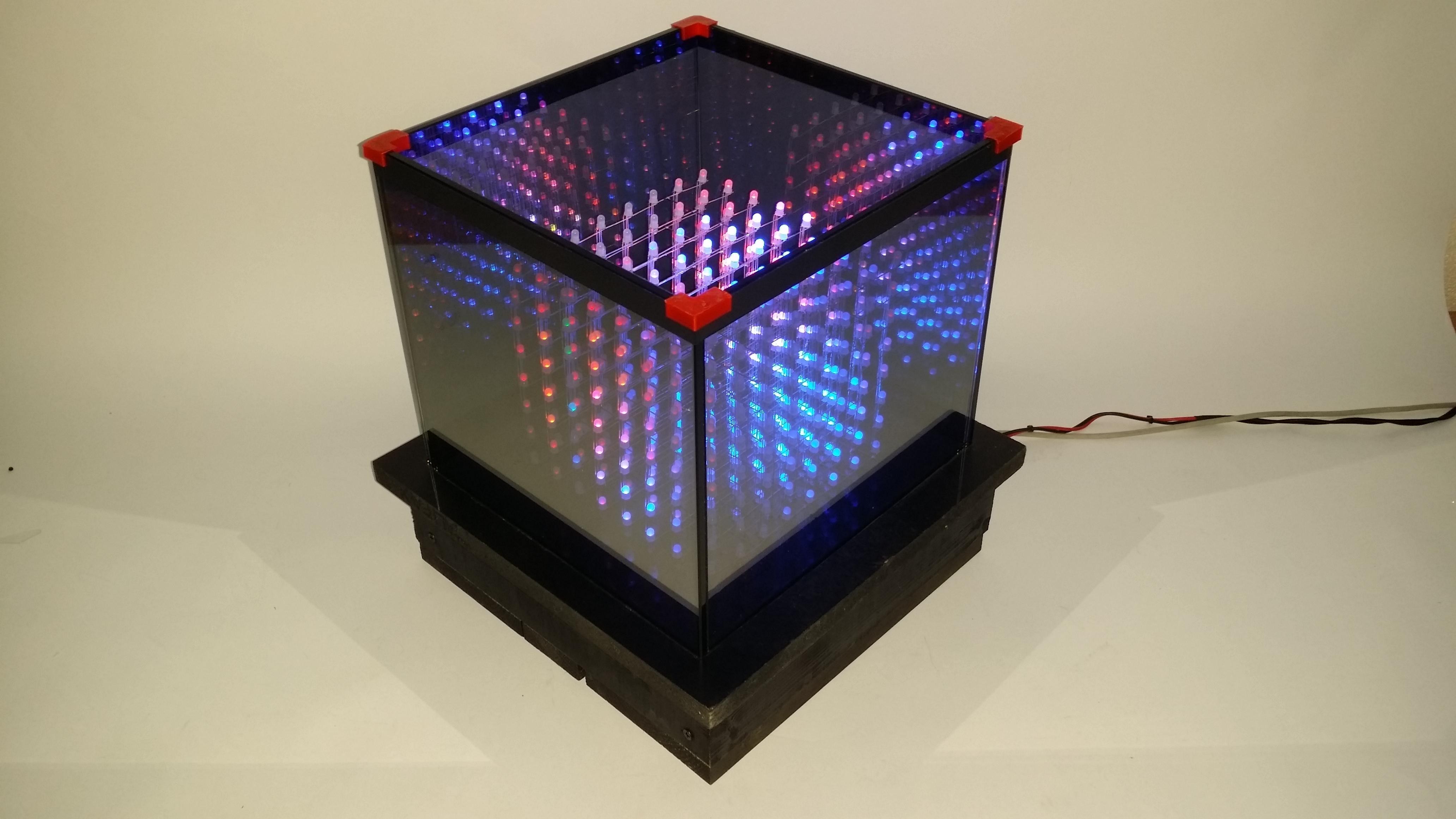 Как сделать светодиодный куб