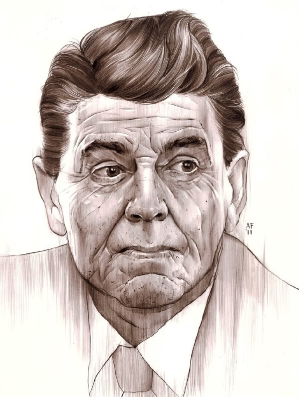 Reagan by Alex Fine