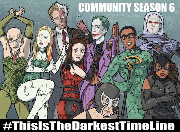 community cast as batman villains
