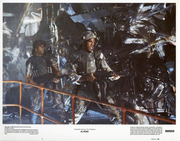 Aliens Lobby Cards - Colonial Marines
