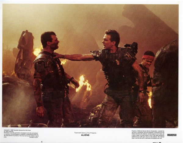 Aliens Lobby Cards - Hudson Hicks and Vasquez