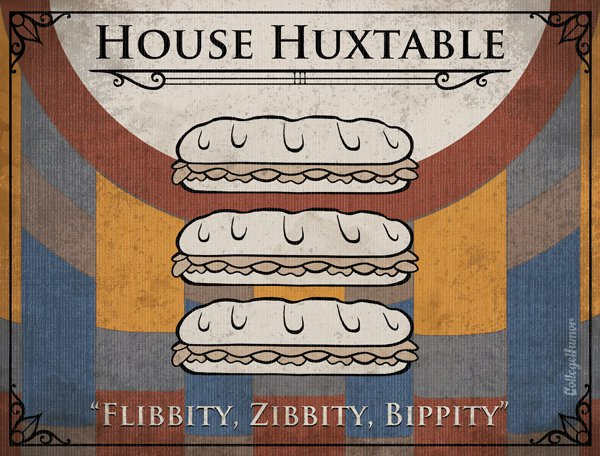 Game of Thrones House Sigils - Huxtables - Cosby Show