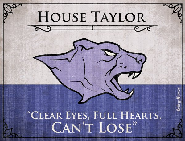 Game of Thrones House Sigils - Coach Taylor - Friday Night Lights
